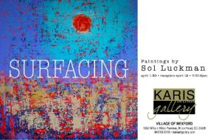 Paintings by Sol Luckman This April at Karis Art Gallery